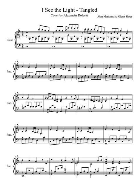 i see the light piano pdf i see the light tangled piano solo free sheet music