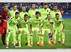 Photos Foot Equipe Barcelone 15042015 Paris Saint