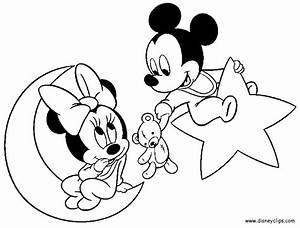Baby Minnie Mouse Coloring Pages - Coloring Home