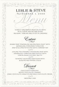 wedding menu cards clickandseeworld is all about funny With examples of wedding menu cards