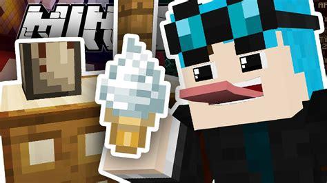minecraft  ice cream   youtube