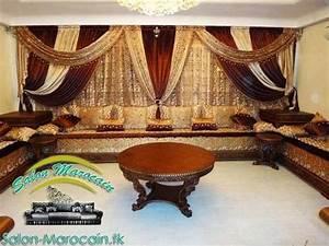 table de coin pour salon marocain sedgucom With superb decoration exterieur pour jardin 6 interieur marocain design 15