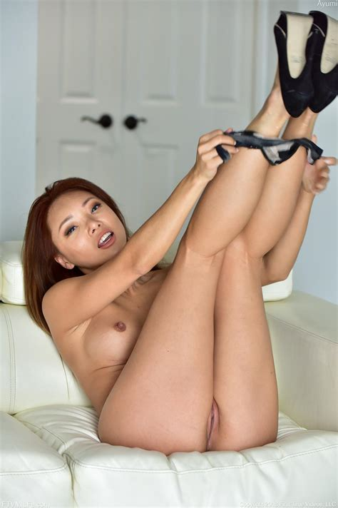 Asian Milf Ayumi Stripping And Spreading Her Legs In Sapphire Eyes Coed Cherry