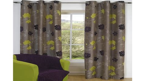 curtains green and grey decorate the house with