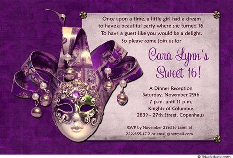 Sweet 16 Birthday Invitations Free Templates FREE