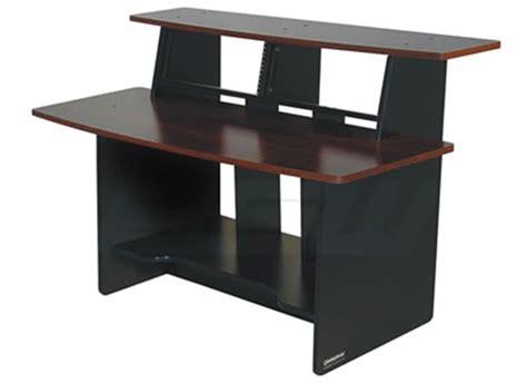 Omnirax Presto 4 Studio Desk Black Dimensions by Omnirax Prestomf