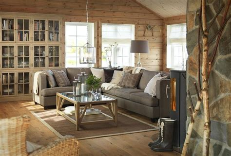 warm home interiors warm and comfortable wooden house interior