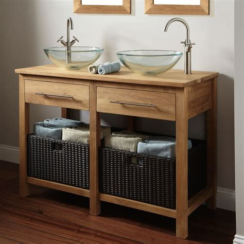 Wooden Bathroom Sink Cabinets by Per Your Home With These Amazing Wooden Bathroom Cabinets