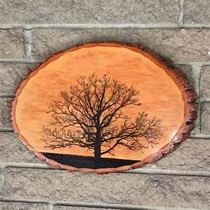 Wood, Burning, By, Steve, Ii, Of, An, Oak, Tree, From, A, Photo, Photo, Taken, By, Sharon