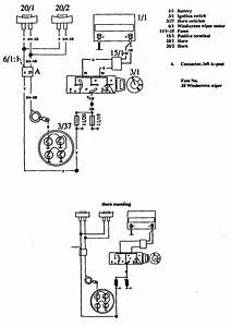 Volvo 760  1990  - Wiring Diagrams - Horn