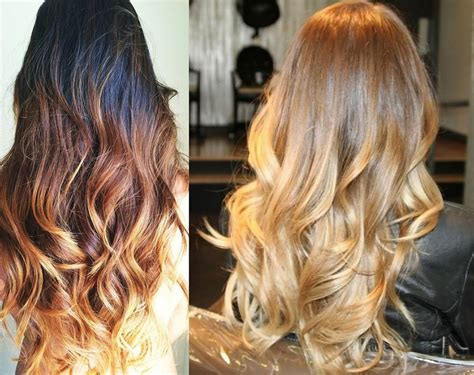 What Color Is Hair by Hair Color Trends 2017 Shatush Hair