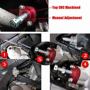 Cnc Red Manual Cam Chain Tensioner Fit Honda Cbr 600 F3 96