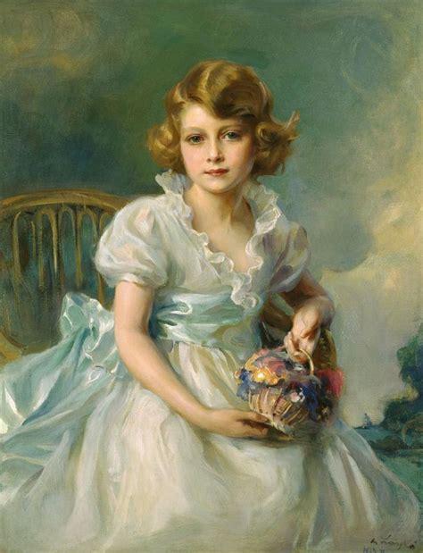Queen Elizabeth Age Philip Laszlo Art