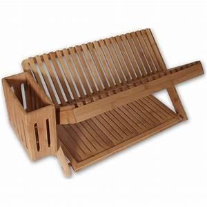 "24"" Bamboo Dish-Drying Rack from Island Bamboo"
