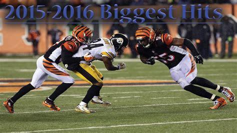NFL Biggest Hits of the 2015-2016 Season ᴴᴰ ||