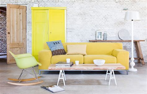 canapé jaune ikea how to design with and around a yellow living room sofa
