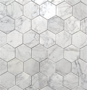 bianco carrara 3 quot polished hexagon marbletiles traditional wall and floor tile toronto