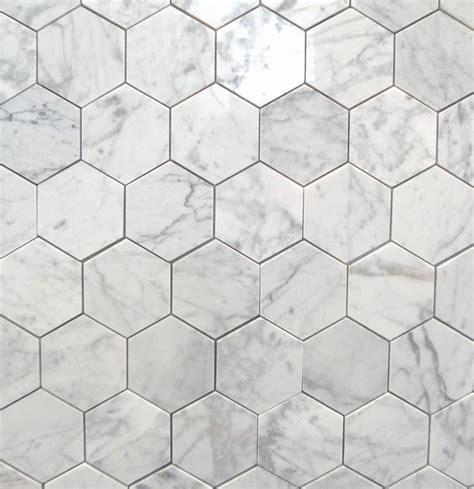 carrara marble bathroom designs bianco carrara 3 quot polished hexagon marbletiles