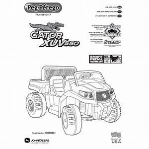 Peg Perego John Deere Gator Xuv User Manual Fius1101g157