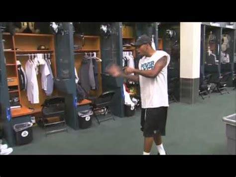 dorenbos asante  desean jackson locker room baseball