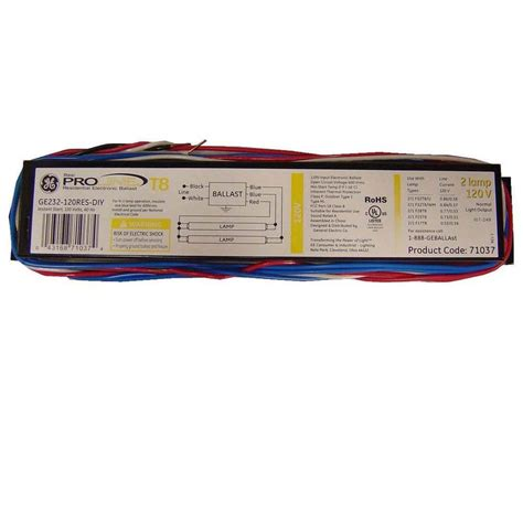 Volt Electronic Ballast For Lamp Fixture