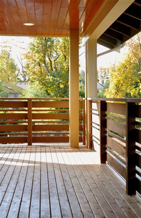 horizontal deck railing plans paul michael davis design front porch 1 modern porch