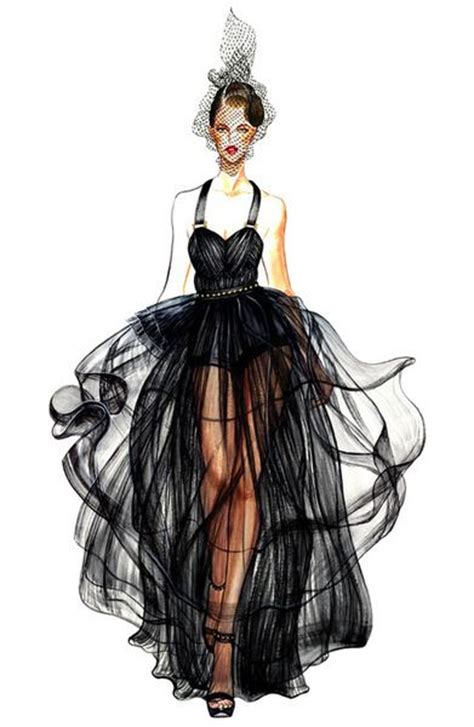 30+ Cool Fashion Sketches - Hative