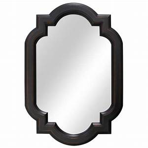 Home Decorators Collection 22 Inch Trefoil Framed Mirror