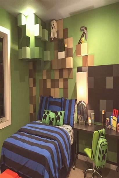 Minecraft Bedroom Boys Amazing Cool Most Bedrooms