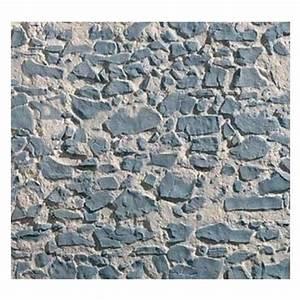 Panneaux Resine Imitation Pierre : panneau en imitation pierre s che bleue plastruction ~ Melissatoandfro.com Idées de Décoration