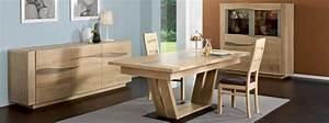 meubles modernes salle a manger bolero en chene meubles With meuble salle À manger avec table a manger en bois moderne