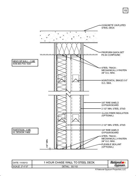 1 Hour Fire Rated Floor Ceiling Assembly Gurus Floor