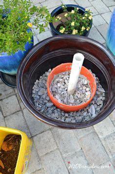 diy planter umbrella stand tutorial backyard patio