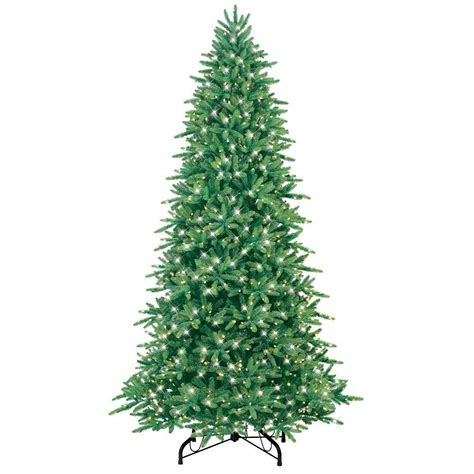 ge holiday ornaments decor 9 ft just cut fraser fir ez light artificial christmas tree with