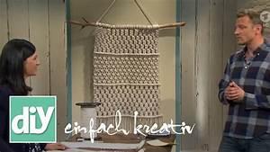 Makramee Wandbehang, DIY einfach kreativ