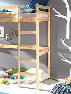 Bett Massivholz 90x200 : hochbett mit schreibtisch dean 90x200 kiefer lackiert massivholz bett kaufen bei vbbv gmbh ~ Indierocktalk.com Haus und Dekorationen