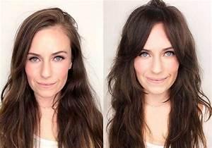 Comment Se Couper Les Cheveux Court Toute Seule : frange avant apr s coiffure simple et facile ~ Melissatoandfro.com Idées de Décoration