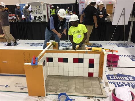 tile competition comes to cefga skillsusa competition