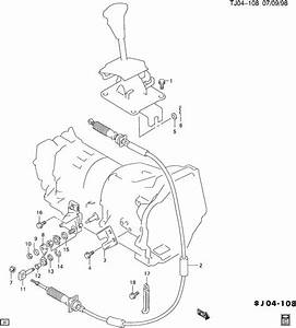 1996 Geo Tracker Transmission Shift Cable Repair