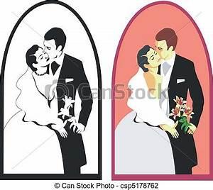 Dessin Couple Mariage Couleur : couleur 02 couple mariage ~ Melissatoandfro.com Idées de Décoration