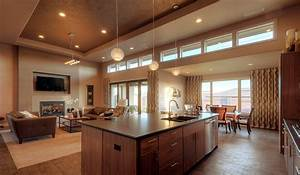 open floor plans vs closed floor plans With kitchen design open floor plan