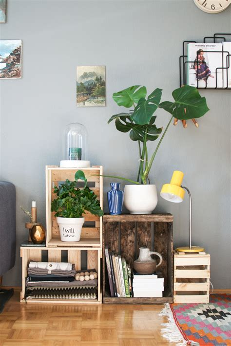 Decorating Ideas With Crates by 15 Methods To Turn Wine Crates Into Something Else