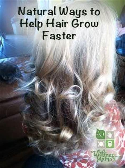 5 ways to help hair grow faster herbs info