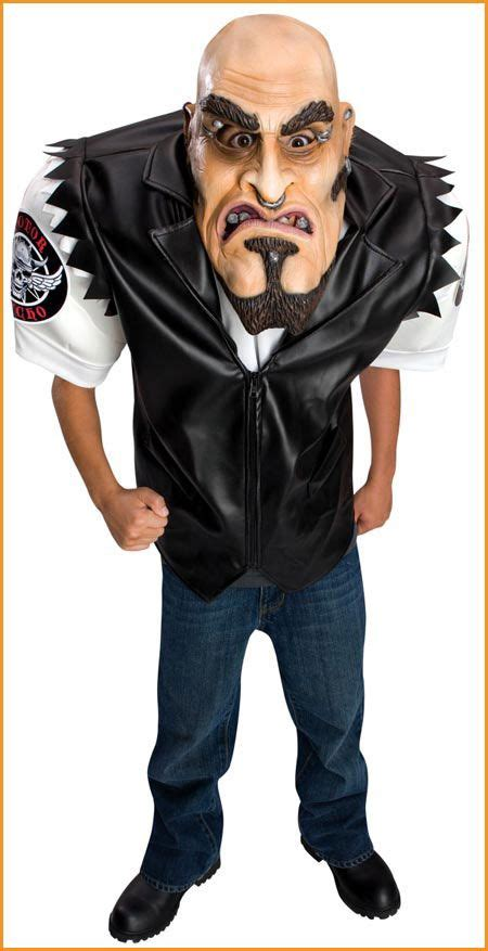 Harley Davidson Costume by Scary Biker Dude Costumes For