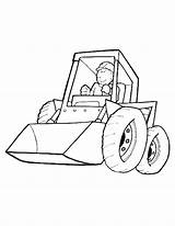 Coloring Pages Dozer Bulldozer Amazing Printable Getcolorings sketch template