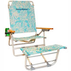 big kahuna beach chair w footrest turquoise hibiscus