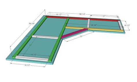 how to make a corner desk woodwork free corner desk plans pdf plans