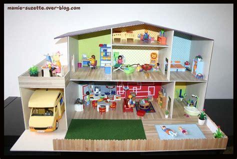 maison playmobil fait en cartonnage le de mamie suzette d 233 co des