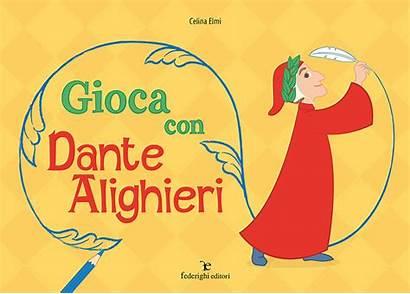 Dante Alighieri Gioca Play Bambini Colorare Federighi