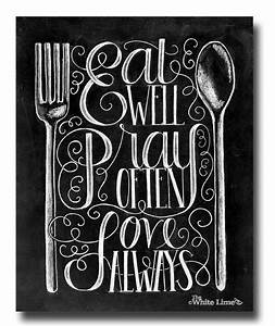 25 best kitchen quotes on pinterest wall sayings With kitchen colors with white cabinets with wall art inspirational sayings